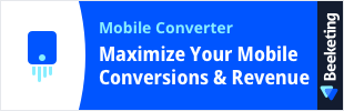 Mobile Converter by Beeketing app banner