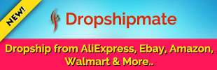 Dropshipmate - Aliexpress, Ebay, Amazon, Dhgate, Walmart, Alibaba Etsy Banggood, Target Import Products and Dropshipping