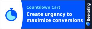 Countdown Cart by Beeketing app banner