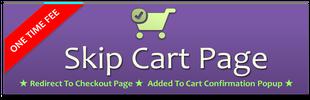 Skip Cart Page