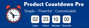 Product Countdown Pro