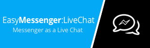 EasyMessenger:LiveChat - Messenger as a Live Chat