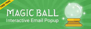 Magic Ball - Email Popup