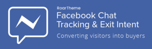 Facebook Chat, Tracking & Exit Intent - RoarTheme