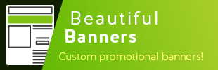 Beautiful Banners by Sense Commerce