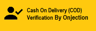 Cash On Delivery (COD) Verification by Onjection