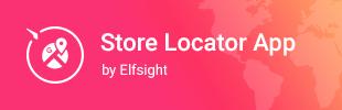 Store Locator App - maps by Elfsight