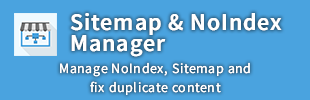Sitemap & NoIndex Manager by NinjaCoderz