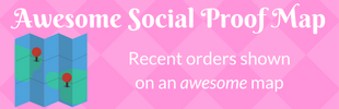 Awesome Social Proof Map