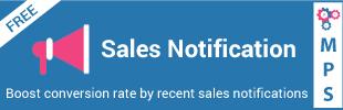 Sales Notification