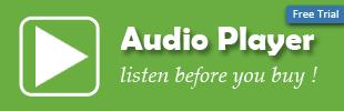 Osaria Audio Player
