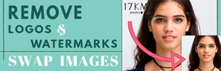 Swap Images & Remove Watermarks