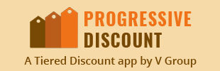 Progressive Discount – A Tiered Discount app by V Group