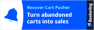 Recover Cart Pusher
