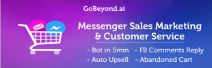 Messenger Sales, Marketing & Customer Service Automation