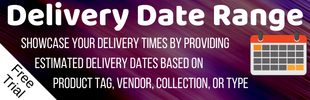 Delivery Date Range