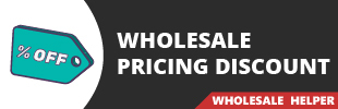 Wholesale Pricing Discount By Wholesale Helper