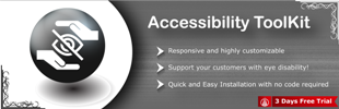 Accessibility Toolkit by AppifyCommerce