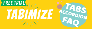 Tabimize - Tabs, Accordions & FAQs