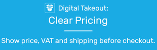 Digital Takeout: Clear Pricing