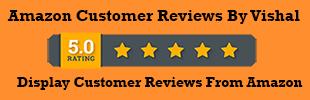 Amazon Customer Reviews By Vishal