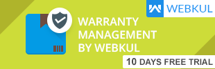 Warranty Management by Webkul