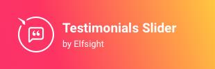 Testimonials Slider App by Elfsight