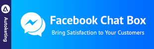 Facebook Chat Box by Autoketing - Customer Chat Plugin