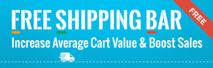 Free Shipping Bar by Hextom app banner