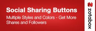 Social Sharing Buttons app banner