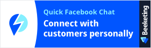 Facebook Chat by Beeketing app banner