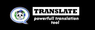 Panda Language Translate