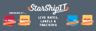 Australia Post, DHL, StarTrack, Labels, Rates & Tracking by StarShipIT
