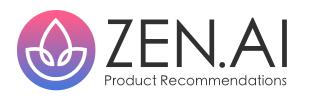 ZEN.AI Product Recommendations