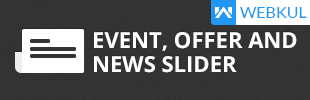 Event , Offer & News Slider