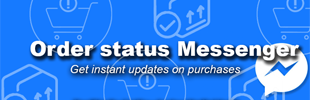 Order Status Facebook Messenger