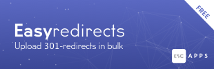 Easy Redirects - Bulk 301 Redirects