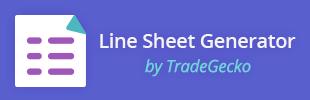 Wholesale Line Sheet Generator