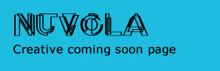 Nuvola - Creative Coming Soon Page