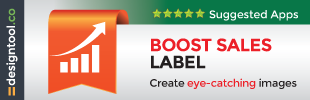 Easy Boost Sales Label