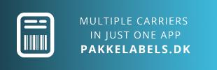 Pakkelabels.dk Shipping Module