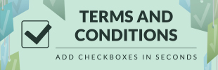 Terms Checkboxes by Saio