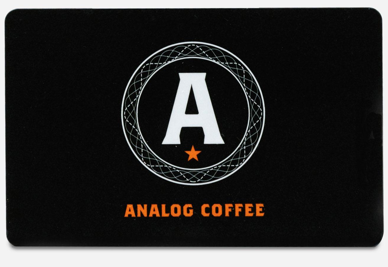 Analog Gift Card