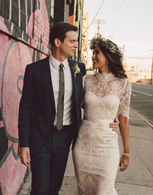 Real Bride Bridgette gown