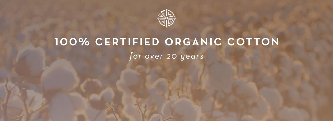 100 percent certified organic cotton clothing for women