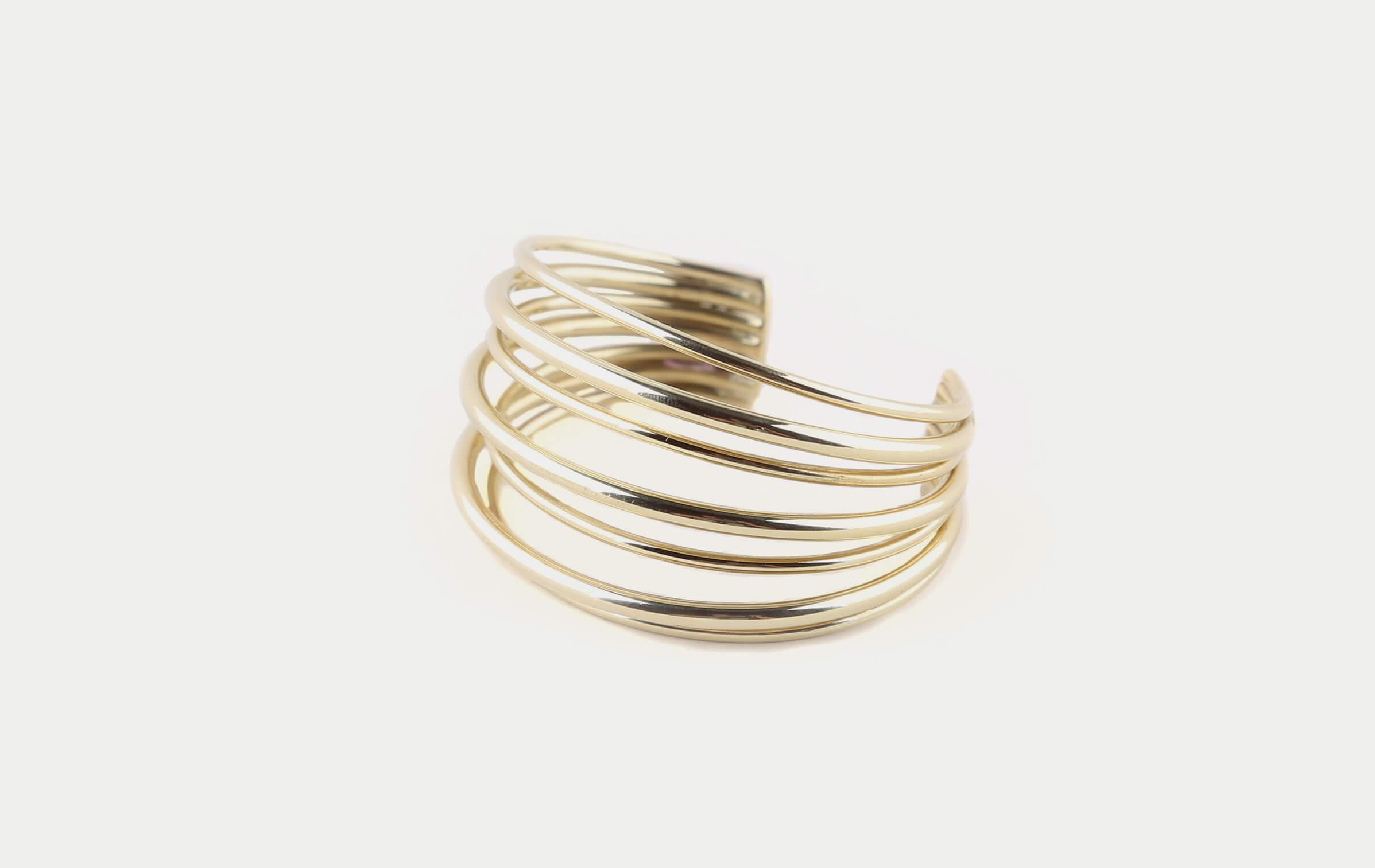 Soko Layered Strand Ring Gold 6 WZqZs0H8d