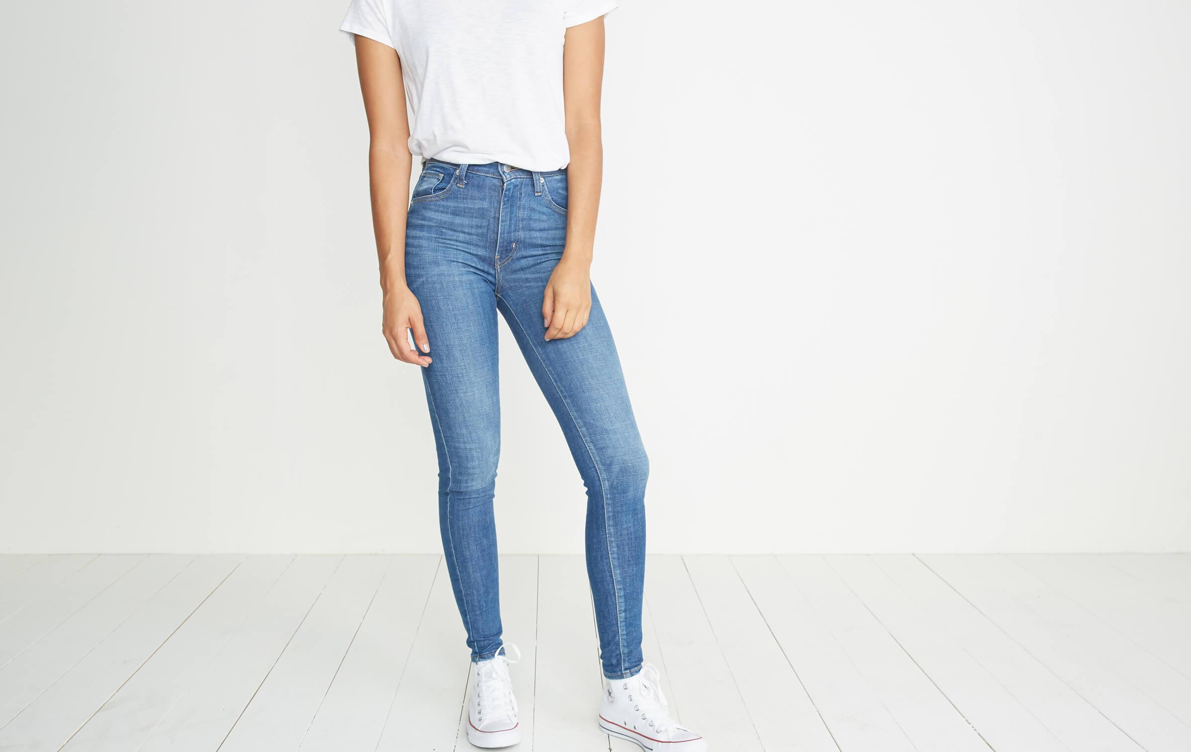 bb3cf29f Levi's Mile High Super Skinny Jean – Marine Layer