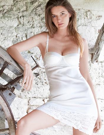 Mojito Beau | Weiße Spitze Luxus Designer Lingerie & Nachtwäsche
