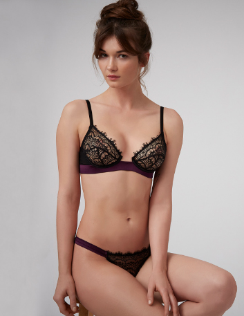 Bisou Plum | Designer Lingerie, Bras & Knickers by Mimi Holliday