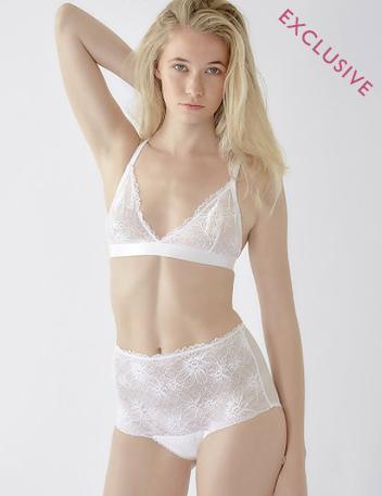 Honeycomb | White Luxury Lingerie, Designer Bridal Bras & Knickers